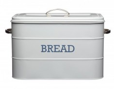 Chlebník KITCHEN CRAFT Bread Bin, šedý