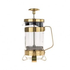 French press BARISTA&Co 3Cup / 350ml, půlnoční zlatá
